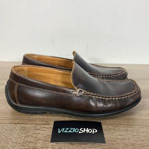 Ecco - Leather Loafers - Men's 7/7.5 Extra Wide